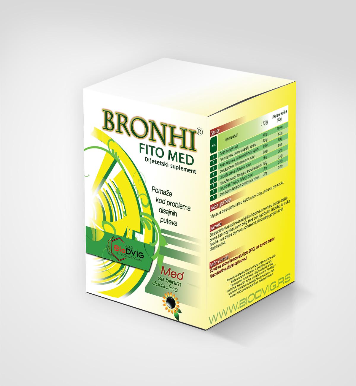 Bronhi fito med - Biodvig DOO